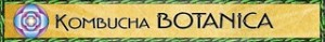 The Kombucha Botanica banner and logo