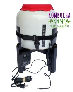 How to keep Kombucha warm without ever checking? The Kombucha Mamma Ferment Friend Heater with Thermostat is the easiest Kombucha heating mat option in the world