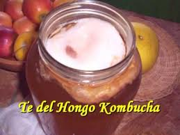 Te del Hongo Kombucha is the Spanish name.