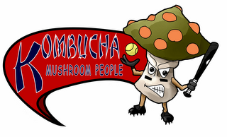 kombucha mushroom people cartoon