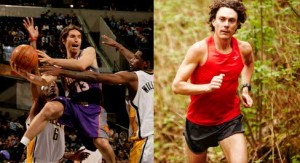 Steve Nash NBA MVP and Scott Jurek American Ultramarathon Record Holder both love to drink Kombucha