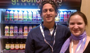 Hannah Crum, The Kombucha Mamma, with Adam Goodman of Kombucha Botanica at Natural Products Expo West 2011