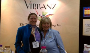 Hannah Crum, The Kombucha Mamma, with Kathy Taylor of Vibranz Kombucha at Natural Products Expo West 2011