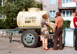 Mobile Tea Kvass Brewery in Russia