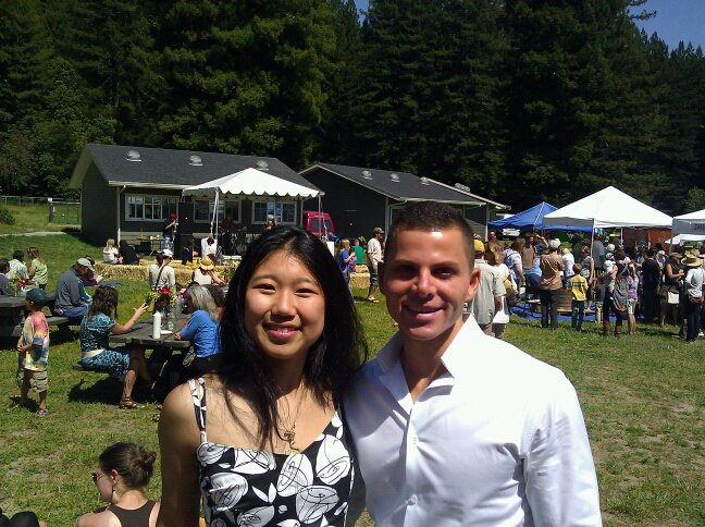 GT Dave of GTs Kombucha & Rana Chang of House Kombucha at the Freestone Fermentation Festival