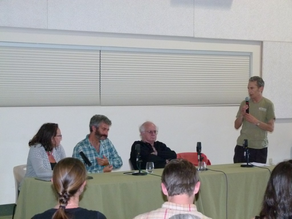 Event Founder Michael Stusser addresses the Freestone Fermentation Symposium on 5.20.11 b