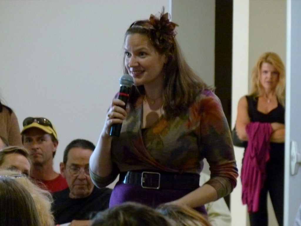 Hannah Crum, The Kombucha Mamma of Kombucha Kamp, offers her contribution to the Freestone Fermentation Symposium 5.20.11