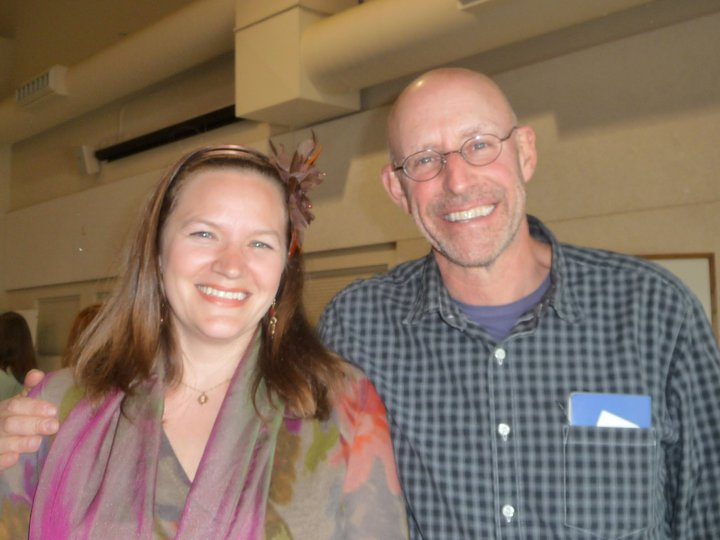 Hannah Crum, The Kombucha Mamma, and NY Times Bestselling Author Michael Pollan at the Freestone Fermentation Festival Symposium & Feast 5.20.11