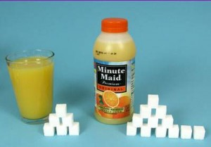 How much sugar in Orange Juice