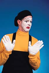 Mime no thanks