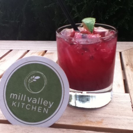 The Kombucha Margarita at Mill Valley Kitchen featuring Deane's Kombucha