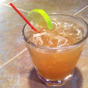 "The ""Dark & Devoted"", one of the most requested Kombucha Cocktail Recipes at Culture Shock in Ithaca NY"