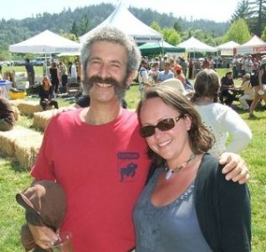Sandor Katz and Jenny McGruther at the Freestone Fermentation Festival