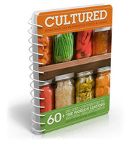 cultured fermented food recipes edited by kevin gianni featuring Hannah Crum the Kombucha Mamma