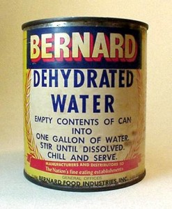Dehydrated is not best for water, humans, or a SCOBY