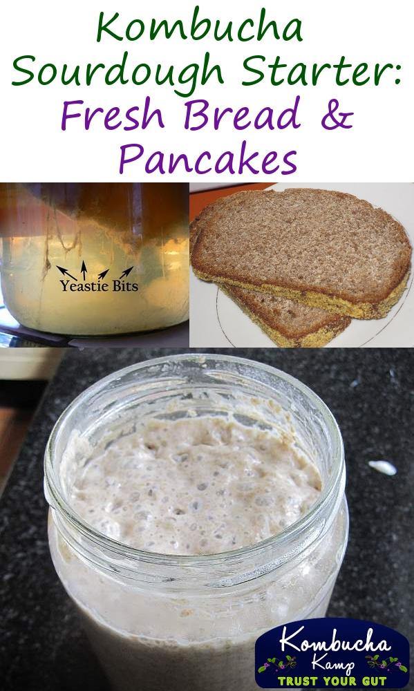 Kombucha Sourdough Bread and Pancakes by Kombucha Kamp