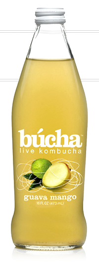 Bucha is formulated to remain below .5% alcohol and is labeled clearly tot his fact.