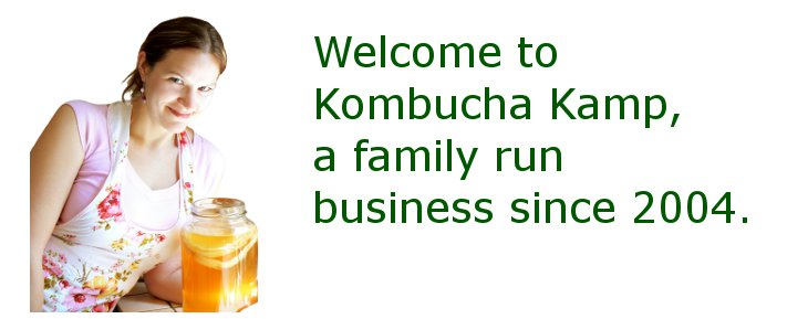 Welcome to Kombucha Kamp, a Family Run Business since 2004.