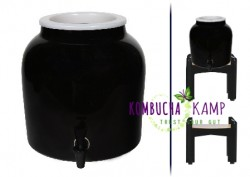 Modern Porcelain in Black for Continuous Brew from KKamp