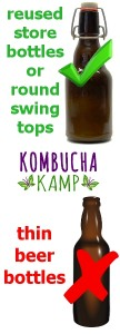 Bottling Kombucha or other fermented drinks Beer Bottles Can be Dangerous Choose Swing Tops Instead