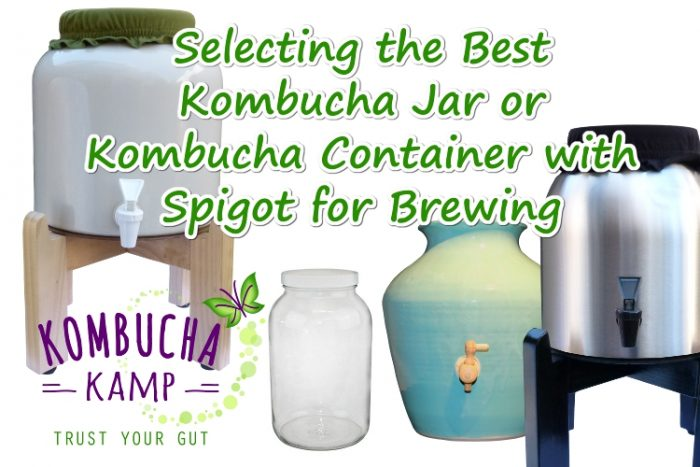 Brewing Location and Proper Vessel Choice go hand in hand with Kombucha or any ferment