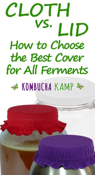 Cloth Cover How To Select For Your Ferment