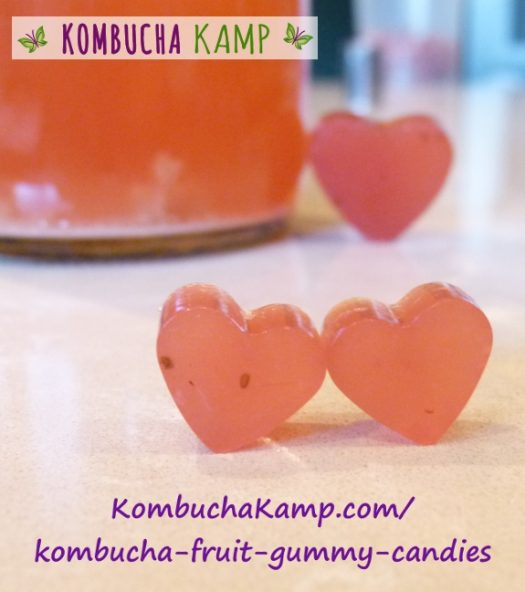 Gummy Candies in heart shapes for Valentine's Day or any time of year