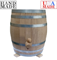 Oak Barrel Kombucha Vessel